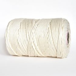 creadoodle luxe collection cotton string cord natural raw 5 mm macrame, weven, weaving, tassels, fringe, needle punch rope touw koord