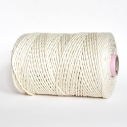 creadoodle luxe collection cotton string cord natural raw 3 mm macrame, weven, weaving, tassels, fringe, needle punch rope touw koord