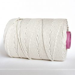 Creadoodle basic collection 5 mm cotton rope 3-ply natural naturel katoen touw macrame weven