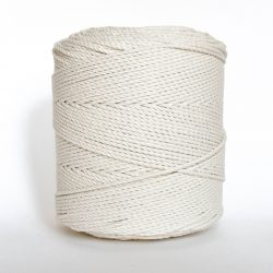 Creadoodle basic collection 3 mm cotton rope 3-ply natural naturel katoen touw macrame weven
