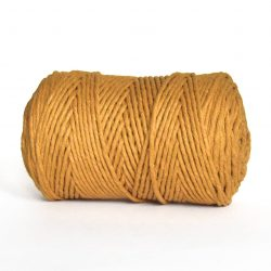 creadoodle macrame weaving cotton cord 3 mm super soft high quality cotton string weven katoen koord mustard