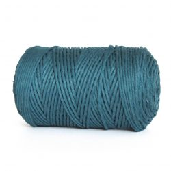 creadoodle macrame weaving cotton cord 3 mm super soft high quality cotton string weven katoen koord deap sea