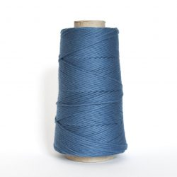 Creadoodle combed cotton collection 1 mm of the highest quality cotton for macrame, weaving, crochet, needle punch, embroidery, super kwaliteit katoen koord 30 colours available forever sky