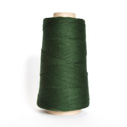 Creadoodle combed cotton collection 1 mm of the highest quality cotton for macrame, weaving, crochet, needle punch, embroidery, super kwaliteit katoen koord 30 colours available pine green