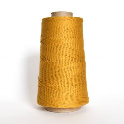Creadoodle combed cotton collection 1 mm of the highest quality cotton for macrame, weaving, crochet, needle punch, embroidery, super kwaliteit katoen koord 30 colours available golden mustard