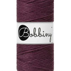creadoodle bobbiny 3 mm macrame cotton for macrame crochet weaving needle punch and more creative hobby blackberry