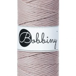 creadoodle bobbiny 3 mm macrame cotton for macrame crochet weaving needle punch and more creative hobby pearl