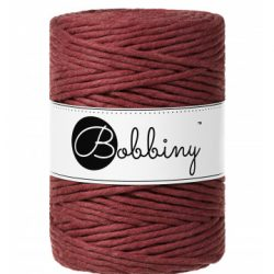 creadoodle bobbiny 5 mm macrame cotton for macrame crochet weaving needle punch and more creative hobby wild rose