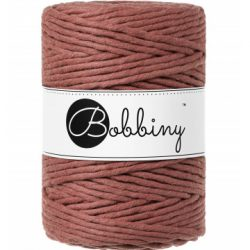 creadoodle bobbiny 5 mm macrame cotton for macrame crochet weaving needle punch and more creative hobby sunset